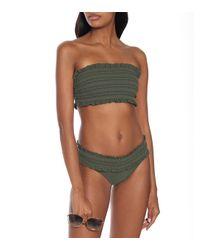 Tory Burch Green Costa Bikini Bottoms