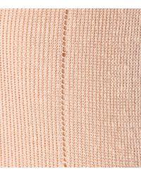 Isabel Marant Pink Zandra Linen-blend Sweater