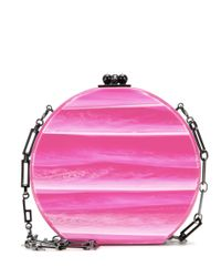 Edie Parker | Pink Mytheresa. Com Exclusive Oscar Tricolor Box Clutch | Lyst