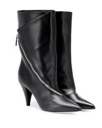 Givenchy Black Stiefel aus Leder