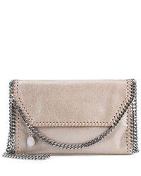 Stella McCartney Natural Falabella Mini Shoulder Bag
