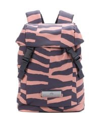 Adidas By Stella McCartney Multicolor Striped Backpack