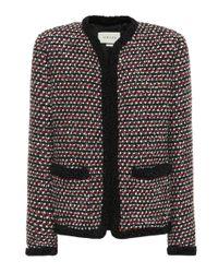 Chaqueta de tweed con lentejuelas Gucci de color Red