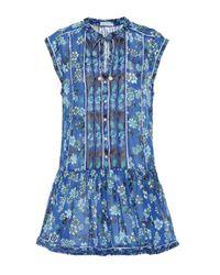 Exclusivité Mytheresa – Robe Honey en coton Poupette en coloris Blue