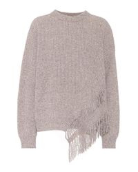 Stella McCartney Multicolor Cashmere And Wool Sweater