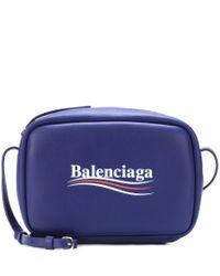 Borsa a tracolla Everyday in pelle di Balenciaga in Blue