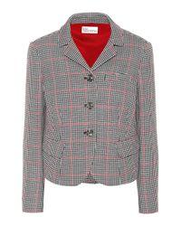 Chaqueta de algodón y lana RED Valentino de color Multicolor
