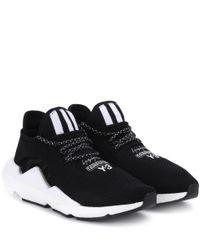 Y-3 Black Sneakers Saikou