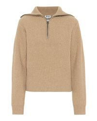 Acne Natural Pullover aus Wolle