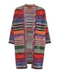 Cardigan in maglia di Missoni in Multicolor
