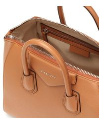 Borsa Antigona Medium in pelle di Givenchy in Brown