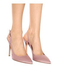 Gianvito Rossi - Pink Exclusive To Mytheresa.com – Grosgrain Slingback Pumps - Lyst