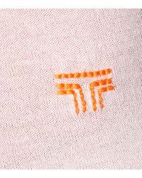 Pullover in misto lana di Tory Sport in Pink