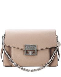 Givenchy Natural Small Gv3 Leather Shoulder Bag