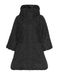 Abrigo de encaje Valentino de color Black