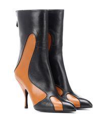 Bottega Veneta Black Stiefel aus Leder
