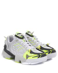 Vetements Gray X Reebok Sneakers Spike Runner