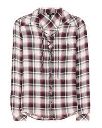 PAIGE Multicolor Clea Plaid Shirt