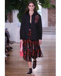 Valentino - Black Embellished Jacket - Lyst