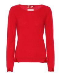 81hours Red Pullover aus Kaschmir