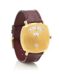 Gucci Metallic Uhr Grip 38mm aus Edelstahl