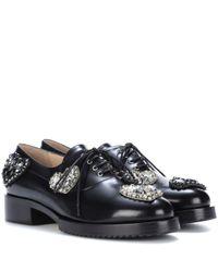 N°21 Black Schnürschuhe aus Leder