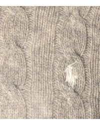 Polo Ralph Lauren Gray Pullover aus Wolle und Kaschmir