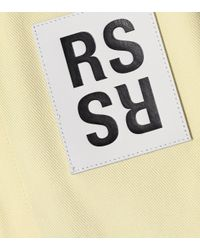 Raf Simons Yellow Hemd aus Baumwolle