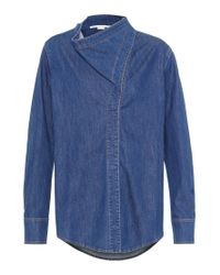 Camicia di jeans di Stella McCartney in Blue