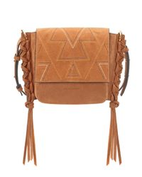 Isabel Marant - Brown Kleny Suede Shoulder Bag - Lyst