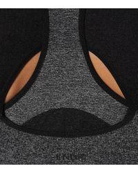 Brassière de sport Juno LNDR en coloris Gray