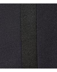 Saint Laurent Blue Wool Trousers
