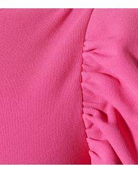 Stella McCartney Pink Asymmetrisches Kleid