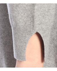 Stella McCartney Gray Minikleid aus Kaschmir und Wolle
