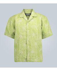 La Chemise Jean à manches courtes Jacquemus pour homme en coloris Green