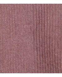 Brunello Cucinelli Pink Metallic Mohair-blend Sweater