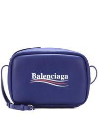 Balenciaga Blue Crossbody-Tasche Everyday