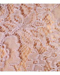 Valentino Pink Bluse aus Spitze