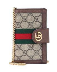 Gucci Multicolor Ophidia Gg Supreme Canvas Iphone 7/8 Case