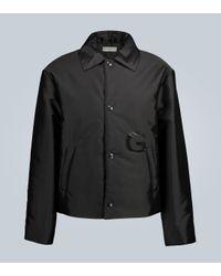Veste matelassée raccourcie à logo Givenchy pour homme en coloris Black