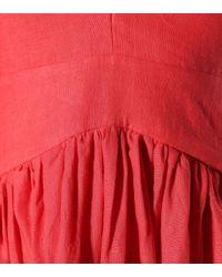 Kalita Red Maxikleid Persephone aus Leinen