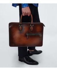 Porte-documents Un Jour en cuir Berluti pour homme en coloris Brown