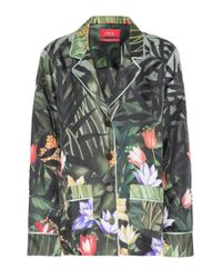 Camisa de seda estampada Ade F.R.S For Restless Sleepers de color Green