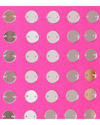 David Koma - Pink Sleeveless Wool Crêpe Dress - Lyst