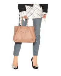 Balenciaga - Pink Papier B4 Zip-around Leather Shoulder Bag - Lyst