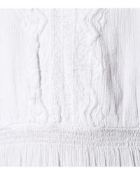 Abito lungo Kari in cotone di Melissa Odabash in White