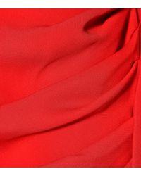 Magda Butrym Red Minikleid Carlton aus Seide