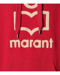 Étoile Isabel Marant Pink Hoodie Mansel