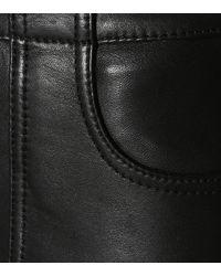 Ganni Black Lederhose Passion