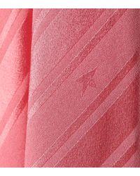 Golden Goose Deluxe Brand Pink Midikleid Hana aus Crêpe und Satin